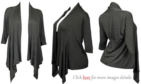 Elegance With Deep Colors Plus Size Cardigan Sweaters