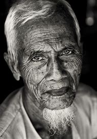 Old Black and White Portrait Photography