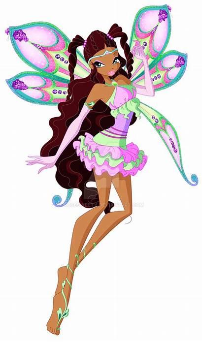 Enchantix Aisha Season Winx Deviantart Bloom Dolls