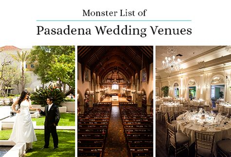 monster list  pasadena wedding venues gearhart photo