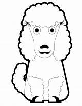 Poodle Coloring Puppy Pages Cartoon Poodles Printable Pretty Template Clipart Cliparts Miniature Clip Popular Library Coloringhome Templates sketch template