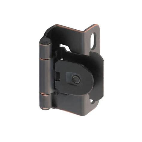 amerock cabinet hinge parts amerock single demountable 1 2 quot overlay hinge oil rubbed