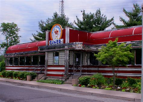 black tie and flip flops hawk diner montclair state