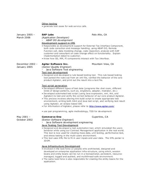 College Scholarship Resume Exle by Exle Software Developer Resume 100 Images Professional