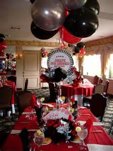 50th Birthday Casino Party Centerpieces
