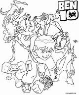 Coloring Ben Pages Alien Arms Four Ten Colouring Characters Printable Force Omnitrix Ultimate Cool2bkids Ditto Template Ben10 Sheets Cartoon Boys sketch template