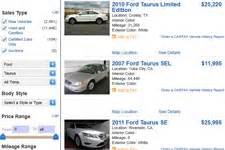 ford taurus  sale  owner buy cheap pre owned