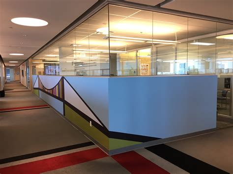 ocad  student designs wallwork  mercedes benz