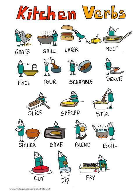 vocabulaire de la cuisine vocabulaire verbes cuisine