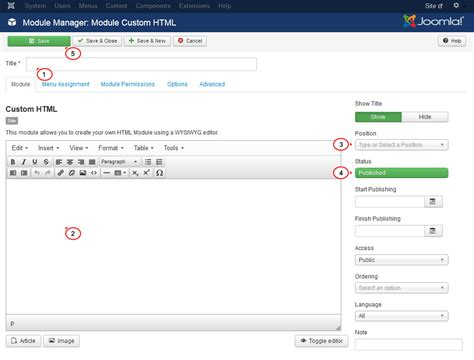 How To Upload A Template In Joomla by Joomla 3 X How To Add Module Position Template Help