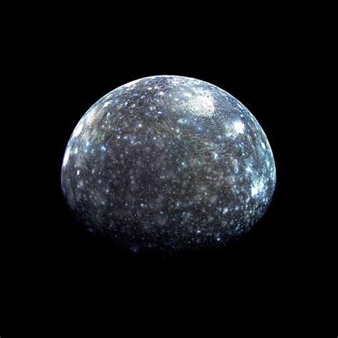 Callisto, the fourth Moon of Jupiter | The Cosmos ...