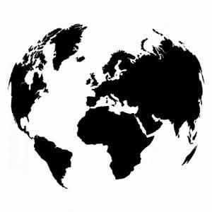 Carte Du Monde Design : stickers carte du monde stickers malin ~ Teatrodelosmanantiales.com Idées de Décoration