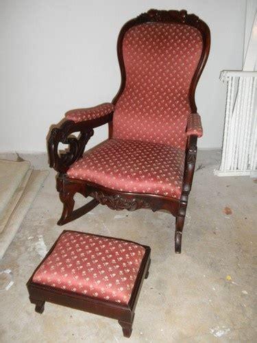 Antique Lincoln Rocker Rocking Chair