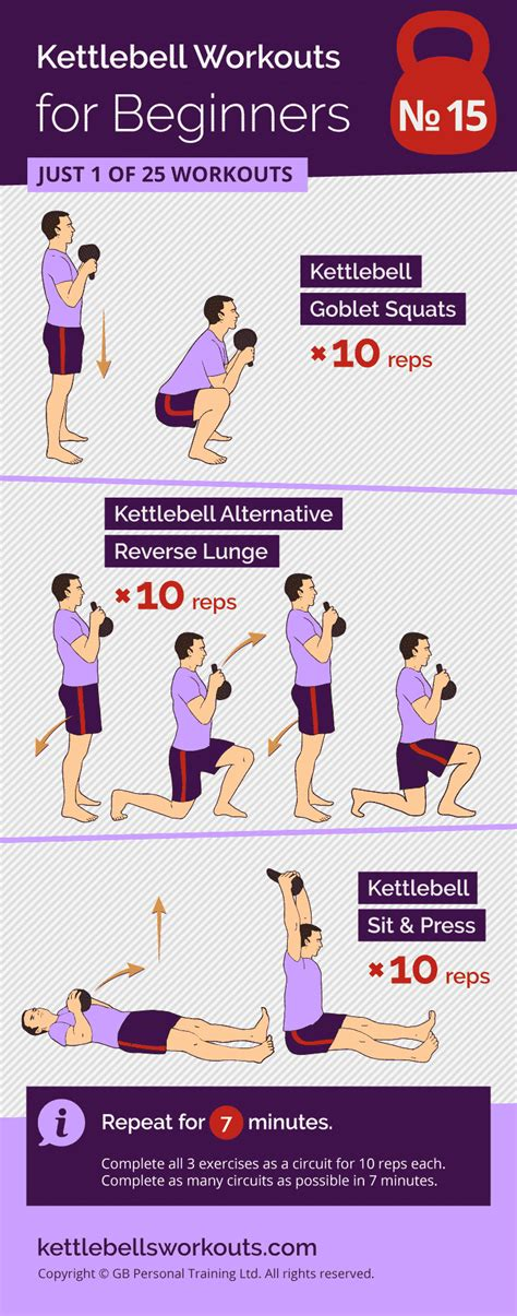 kettlebell circuit workouts minute beginners exercises workout fitness training beginner routines challenge super sit press lue read