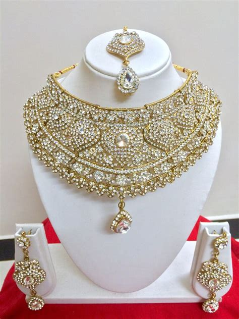 Bridal Jewelry by Indian Style Fashion Gold Plated Bridal Jewelry