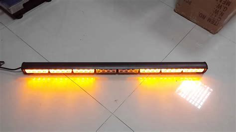 traffic advisor light bar new more flash pattern auto truck 32 led emergency traffic