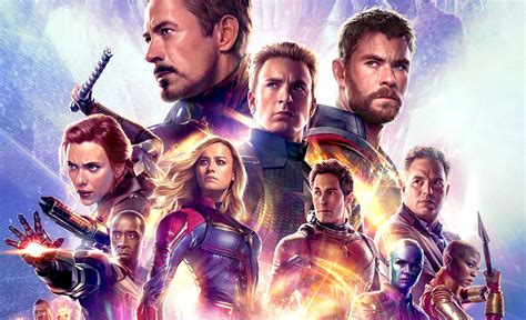Avengers Endgame Spots Feature New Footage From The