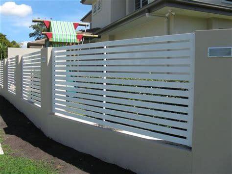 Horizontal Slat Fence Panel