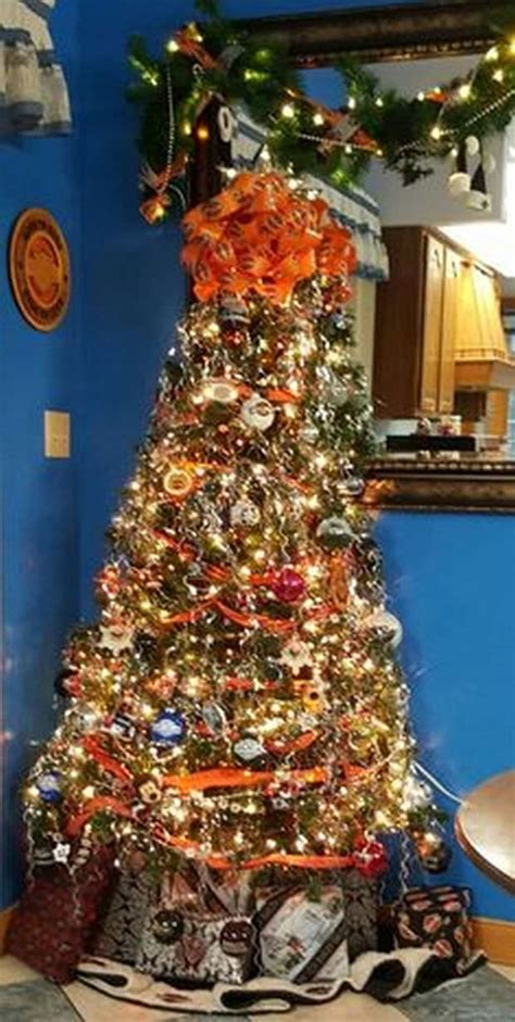 gorgeous harley davidson themed trees biker