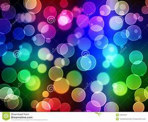 Abstract Background - Blurry Lights Stock Illustration ...