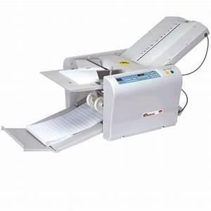 mbm 407a automatic tabletop paper folding machine office With tabletop letter folding machine