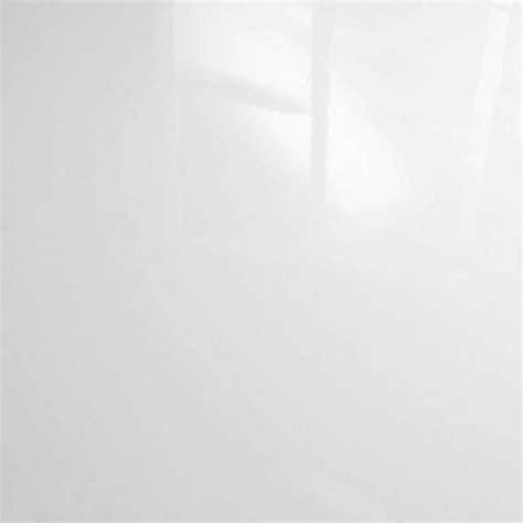 Falquon High Gloss Flat Edge 8mm White High Gloss Flooring