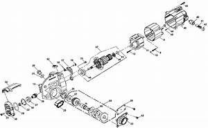 Dewalt Dws535 7 1  4 Worm Drive Circular Saw Parts Type 1  Parts