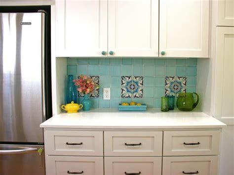 colorful tile backsplash   vintage  hgtv