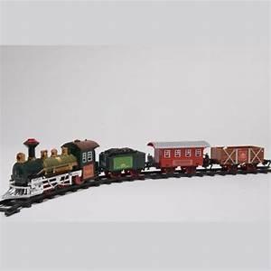 Train Electrique Noel : train electrique de noel a pile 280cm decoration noel badaboum ~ Teatrodelosmanantiales.com Idées de Décoration