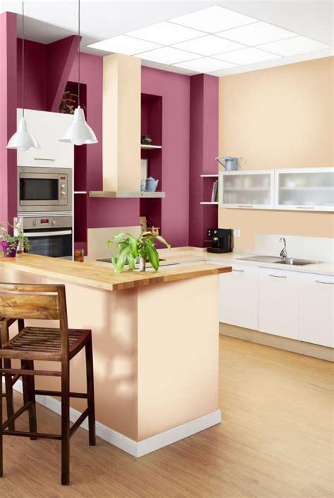 couleur pour cuisine moderne peinture murale 107 idées couleurs pour la maison