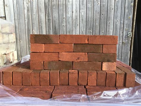 Modern Red Brick Authentic Reclamation