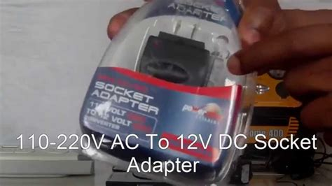 how to convert any 100 240v ac outlet into a 12v dc