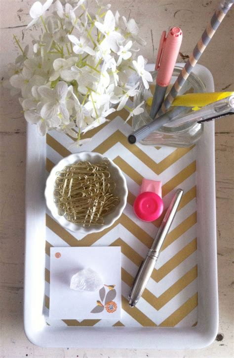 top  easy  creative diy desk trays