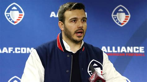 aaf ceo charlie ebersol opens    leagues
