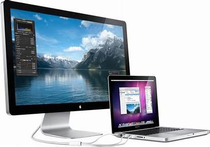 Macbook Inch Display Cinema Screen Apple Computer