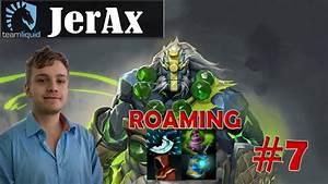 JerAx BEST ES Player Earth Spirit Roaming Pro Gameplay