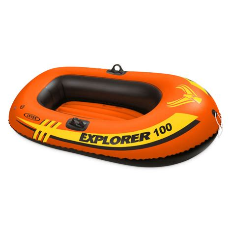 Inflatable Boats Orange County by Intex Explorer 100 1 Person Youth Size Pool Lake