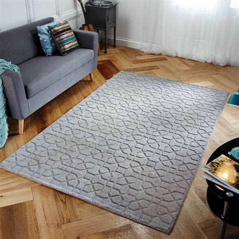 tapis gris pas cher tapis salon moderne gris pas cher tendance tapis deco 2018