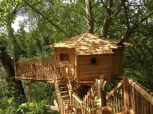 Constructeur Cabane Dans Les Arbres : cabane aventure nidperch constructeur de cabane ~ Dallasstarsshop.com Idées de Décoration