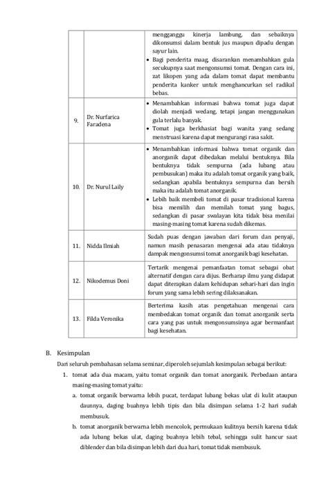Contoh Penulisan Notulen Dalam Diskusi by Contoh Laporan Dalam Diskusi Laporan 7