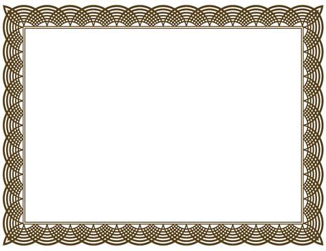 certificate border template 5 new certificate border templates blank certificates