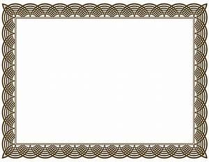 Certificate border vector png clipart best for Certificate border vector