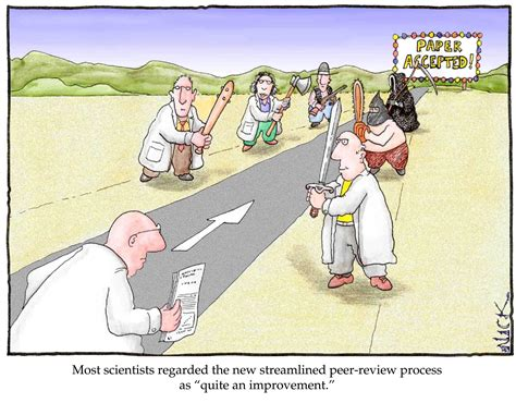 Peer Review (nick Kim Cartoon)
