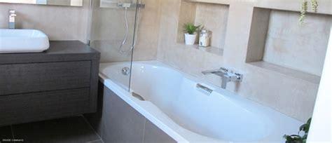 beton ciré cuisine baignoire bain inside création créateur d 39 espace