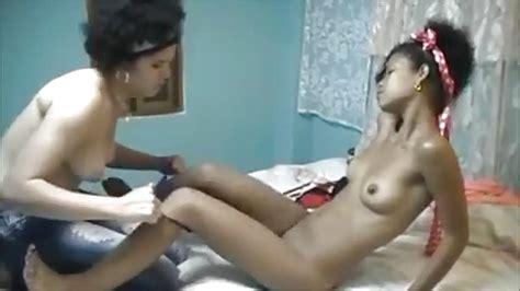 Lustful Brazilian Teen Having Lesbian Fun With A Kinky