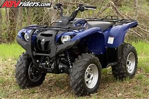 2009 Yamaha Grizzly 550 4x4 Utility Atv Test Ride    Review