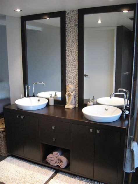Two Mirrors In Bathroom by Decorative Bathroom Vanity Mirrors In Bathroom