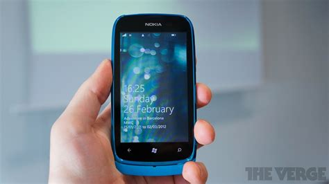 nokia lumia 610 announced with 800mhz processor 256mb ram windows phone 7 5 the verge