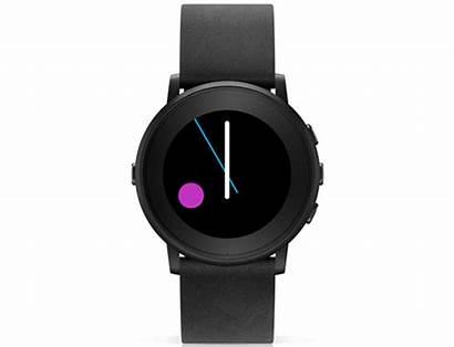 Pebble Ttmm Smartwatch Round Designboom Interface Watchface