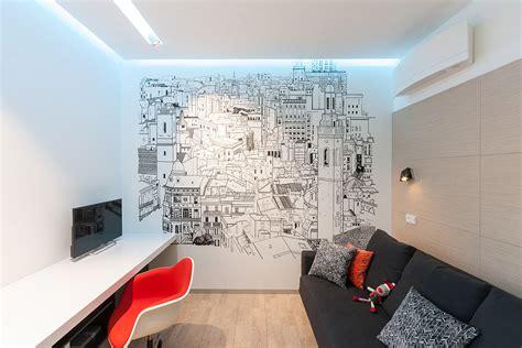 wall graphics interior design ideas